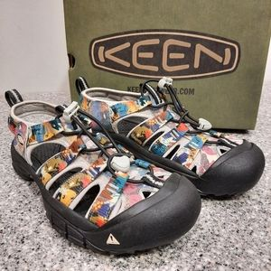 Keen Newport H2 Limited Edition Faces Sandal